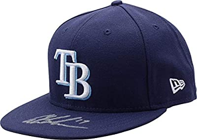 Austin Meadows Tampa Bay Rays Autographed New Era Baseball Cap - Fanatics Authentic Certified - Autographed MLB Hats