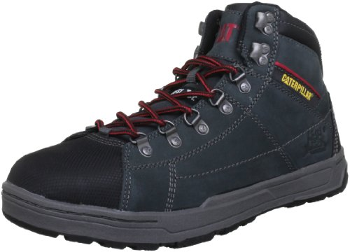 Caterpillar Brode Hi S1P, Chaussures de sécurité homme - Gris (Dark Shadow), 44 EU