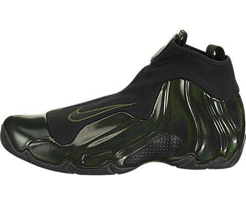 Nike Air Flightposite One Legion Green Black Basketball Mens (10) (Shoes Kevin Garnett)
