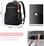 BOPAI 15inch Laptop Backpack for Women Casual