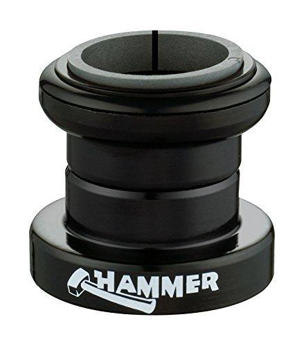 FSA Unisex Hammer Threadless Headset, Black, 1.1/8-Inch inch by by FSA