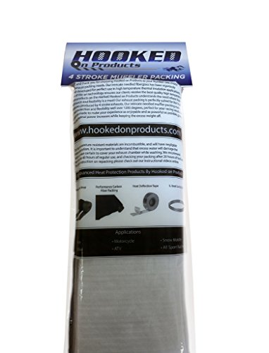 Hooked on Products #HHR011 4 Stroke Muffler and Silencer Repacking kit