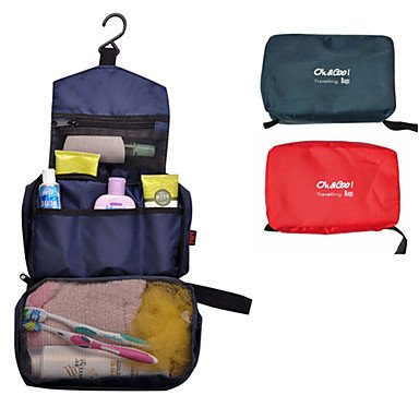 Unisex Travel Storage Bag (Assorted Colors) by Bath Accessories