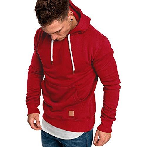 Hoodies for Mens, FORUU Clover Sales 2019 Under 10 Best Gift for Boyfriend Men's Long Sleeve Autumn Winter Casual Sweatshirt Top Blouse Tracksuits