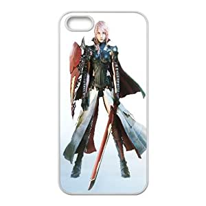 Lightning Final Fantasy Xiii Game iPhone 4 4s Cell Phone Case White gife pp001_9326932