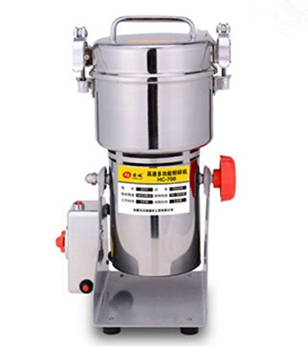 Welljun 700g Stainless Steel Grains Food Mill Major Grinding Machine Grinder Food Pulverizer by Welljun