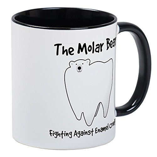 CafePress Fighting Against Enamel Cruelty product image