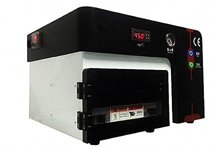 GOWE build-in defoam máquina OCA al vacío máquina plastificadora para pantalla de 7 pulgadas