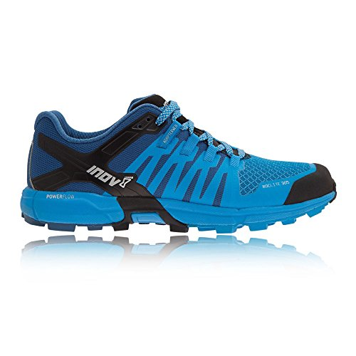 Inov-8 Roclite 305 Hiking Boot Sneaker Trail Running Shoe - Black/Dark Blue/Black - Mens - 12.5