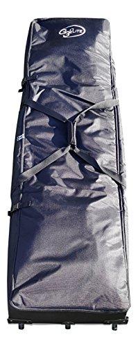 G3Elite Pro 24x8 Soccer Goal Bag Heavy Duty, Easy Rolling Transport Storage Equipment Carry Duffel, Fits 24x8, 21x7, 18x7, 18x6, 12x6 Large Portable Big Steel Tube Frames ()