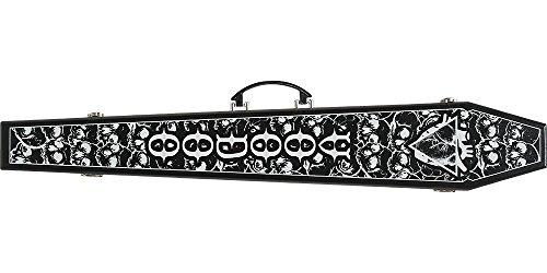 VooDoo VODCOFB Skull Coffin Pool Cue Case (Pool Cue Skull)