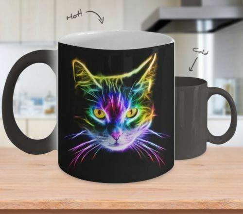 [Color Changing Mug] Cat Lover - Inspirational Mug - Coffee Mug Tea Cup Gift