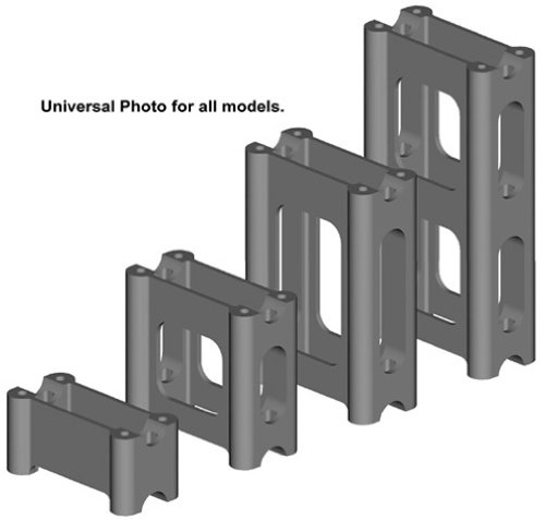 PowerMadd 45538 Pivot Style Riser Block for Ski Doo - 10
