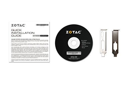 ZOTAC GeForce GT 710 2GB DDR3 PCI-E2.0 DL-DVI VGA HDMI Passive Cooled Single Slot Low Profile Graphics Card (ZT-71302-20L) by ZOTAC (Image #5)