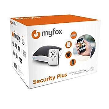 Myfox HC2 - Pack de alarma IP (sensor TAG, mando con 4 botones,