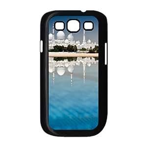 Samsung Galaxy S3 Case Sheikh Zayed Grand Mosque Cheap for Boys, Case for Samsung Galaxy S3 Mini for Women Jumphigh, [Black]