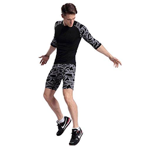 Etosell Compression Tight Under Baselayer Short Pants Men Sports Running Shorts