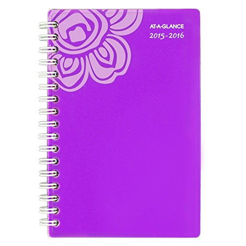 Acco AT-A-GLANCE Weekly / Monthly Pocket Planner, Good Vi...