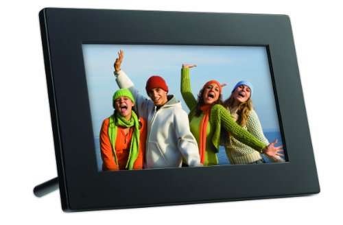 GiiNii GT-7AWP 7-Inch Flatscreen Digital Picture Frame (Piano Black)