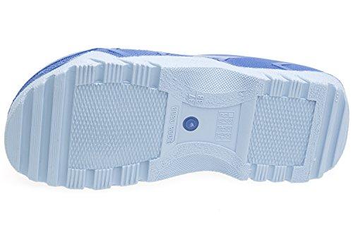 gibra Bleu Mules pour gibra Mules pour Femme TUqT6