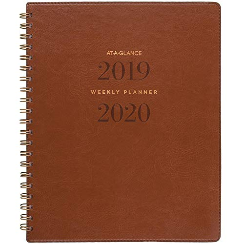 - AT-A-GLANCE 2019-2020 Academic Year Weekly & Monthly Planner, Large, 8-1/2