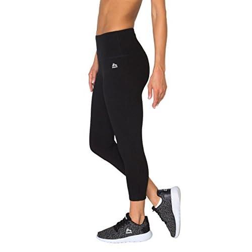 f10a9d6d2354fa hot sale RBX Active Women's Cotton Spandex Tummy Control Capri Workout  Legging