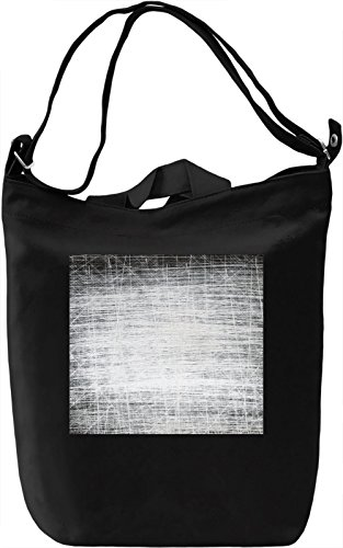 Black and White Full Print Borsa Giornaliera Canvas Canvas Day Bag| 100% Premium Cotton Canvas| DTG Printing|