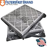 FiltersFast Compatible Replacement for Trane 21' x 26' x 5' (Actual Size: 19 7/8' x 25 1/4' x 4 7/8') Perfect Fit BAYFTAH26M 2-Pack