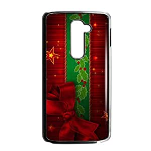 Merry Christmas Plastic Case Protective Skin for LG G2 (Fit for AT&T)-NC6724