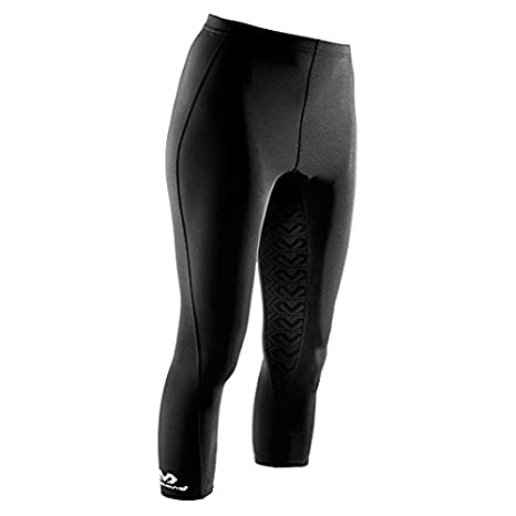 McDavid Womens Capri Tights, Small, Black