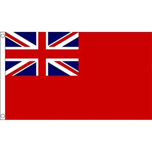 AZ FLAG United Kingdom Red Ensign Flag 2' x 3' - UK - British - England Flags 60 x 90 cm - Banner 2x3 ft