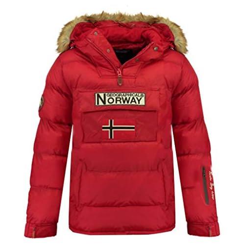 chollos oferta descuentos barato Geographical Norway Chaqueta de hombre BOKER ROJO talla L