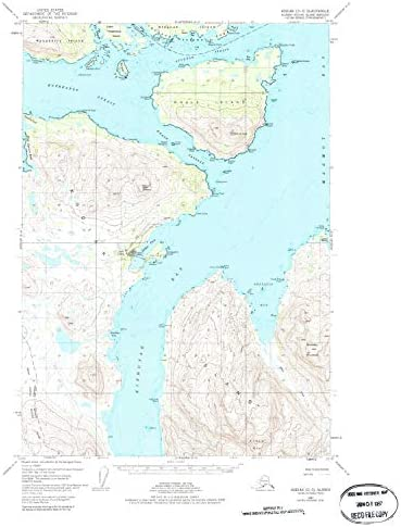 1992 27.2 x 22.2 in YellowMaps Metaline Falls WA topo map 1:24000 Scale Updated 1996 Historical 7.5 X 7.5 Minute
