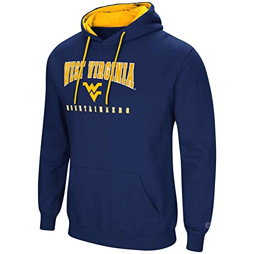 - Colosseum West Virginia Mountaineers Men's Hoodie Pullover Hooded Sweatshirt (XX-Large)