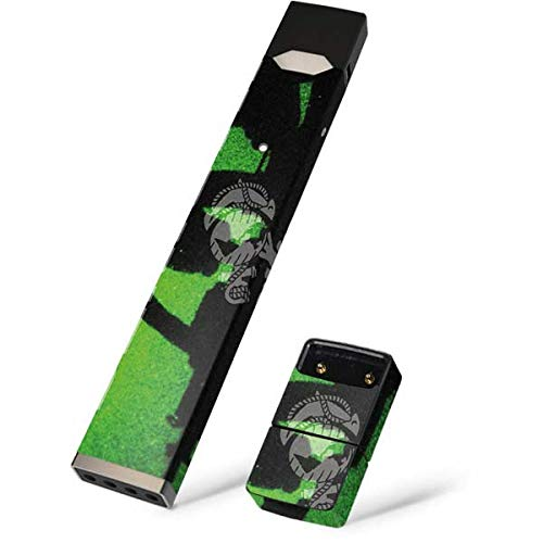 Skinit Marine Shadow Skin for Juul Premium Wraps for Juul Device - Original Military Design - Ultra Thin 3M Vinyl, Residue Free, Easy Application ()