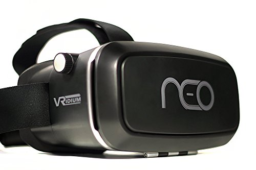 3D VR Headset Virtual Reality for iPhone, Android, plus Samsung Mobile Phones - Glasses Best for 360 VR, games, and Movies. Adjustable and Comfortable Goggles