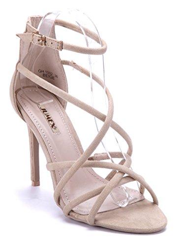 9af7fa5a6623 Günstig Kaufen Footlocker Finish Sammlungen Günstiger Preis Damen Schuhe Sandaletten  Sandalen Rot Stiletto Zierschleife 8 cm