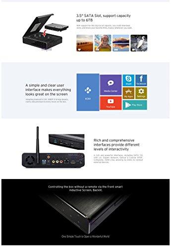 HiMedia Q10 PRO 4K 3D H 265 Network Ultra HD Android TV