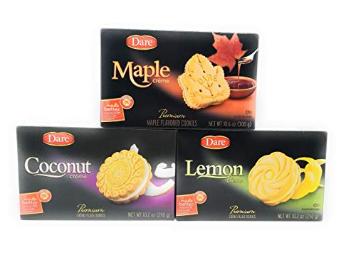 Dare Foods Creme Filled Cookie Assortment - 3 / 10.2 Ounce Boxes