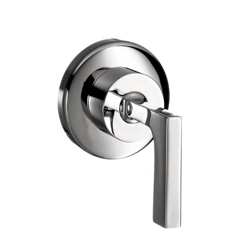 Axor 39961001 Citterio Volume Control Trim with Lever Handle in Chrome