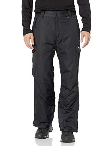 Arctix Men's Snow Sports Cargo Pants, Black, X-Large/Regular