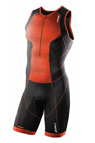 Front SS16 Zip Trisuit Perform 2xu Negro 8ApHw5Pq
