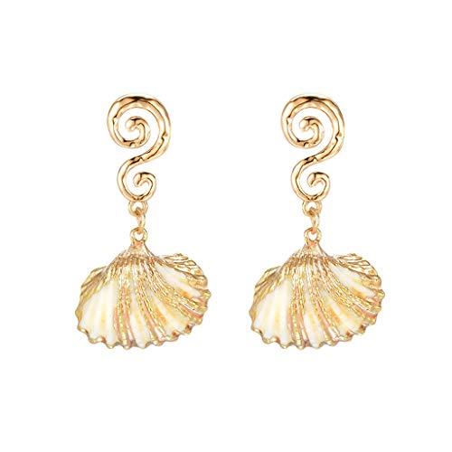 - Transser Chic Drop Dangle Earrings Big Ear Jewelry for Women Girls Ladies