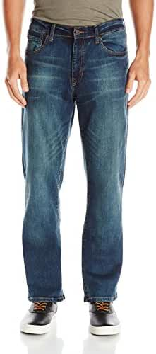 Izod Men's Comfort Stretch Relaxed Fit Jean