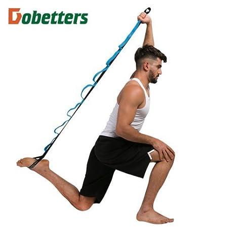 e5e10 - Cinturón elástico de Yoga para Ejercicios y Fitness ...