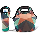"""Insulated Neoprene Lunch Bag Tote 