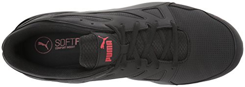 Puma Herren Tazon Modern SL FM Laufschuhe Puma Black/High Risk Red