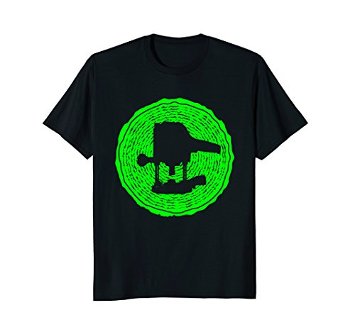 Price comparison product image green wood Router Shirt