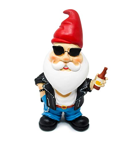 (Hilarious Home Funny Outdoor Lawn Garden Beer Gnome Statue)