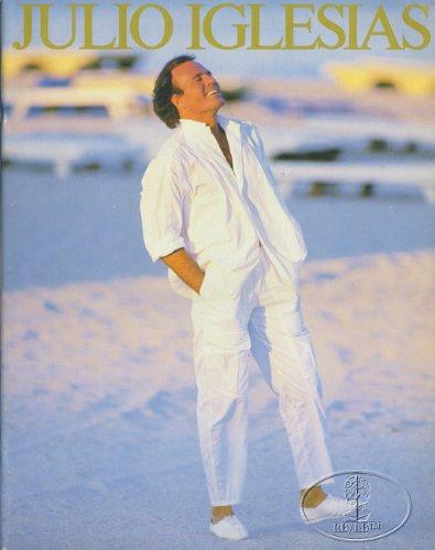 Julio Iglesias 1986 America Tour Concert Program Programme